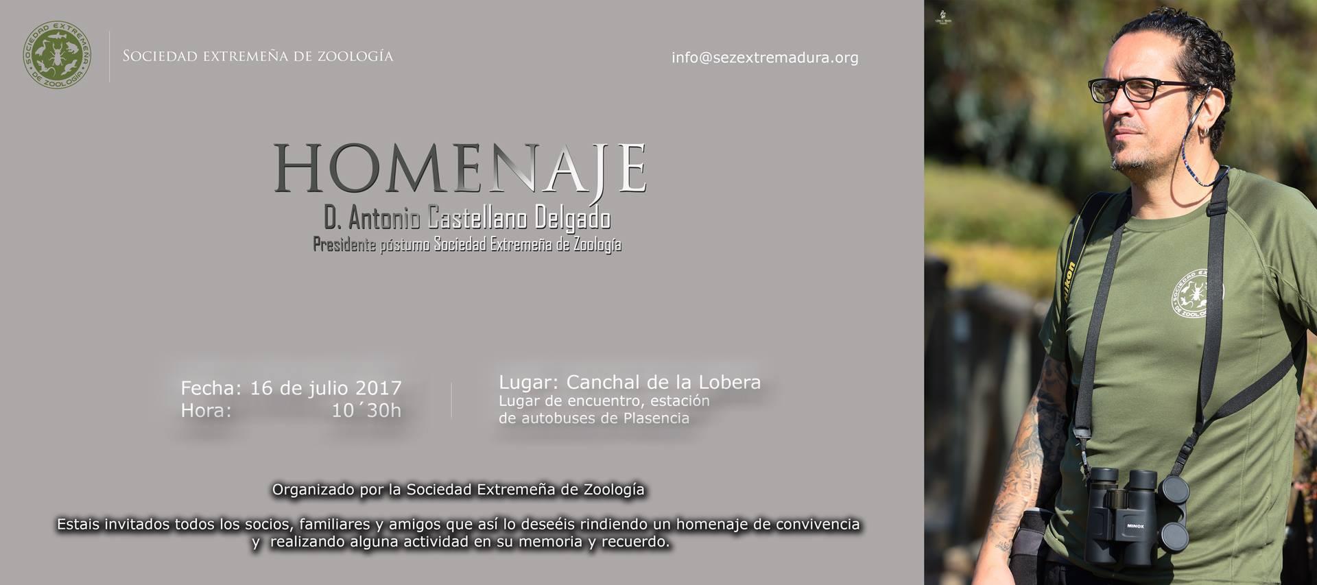 Homenaje a Antonio Castellano